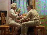 Mature Russian Blond Mom Fucks Boy
