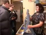 Russian Boys Fuck Mature Saleswoman Marina at the Store