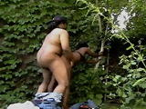 Real Black Prostitute Fucked By Black Guy In a Park
