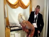 Busty Blonde Whore Surprises Bachelor With Erotic Massage