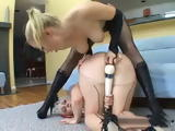 Sexy Blonde Lesbians And Their Toys