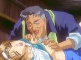 Bondage Hentai Schoolgirl Gets Squeezed Her Tits