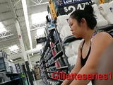 Candid thick fit shapely asian mom